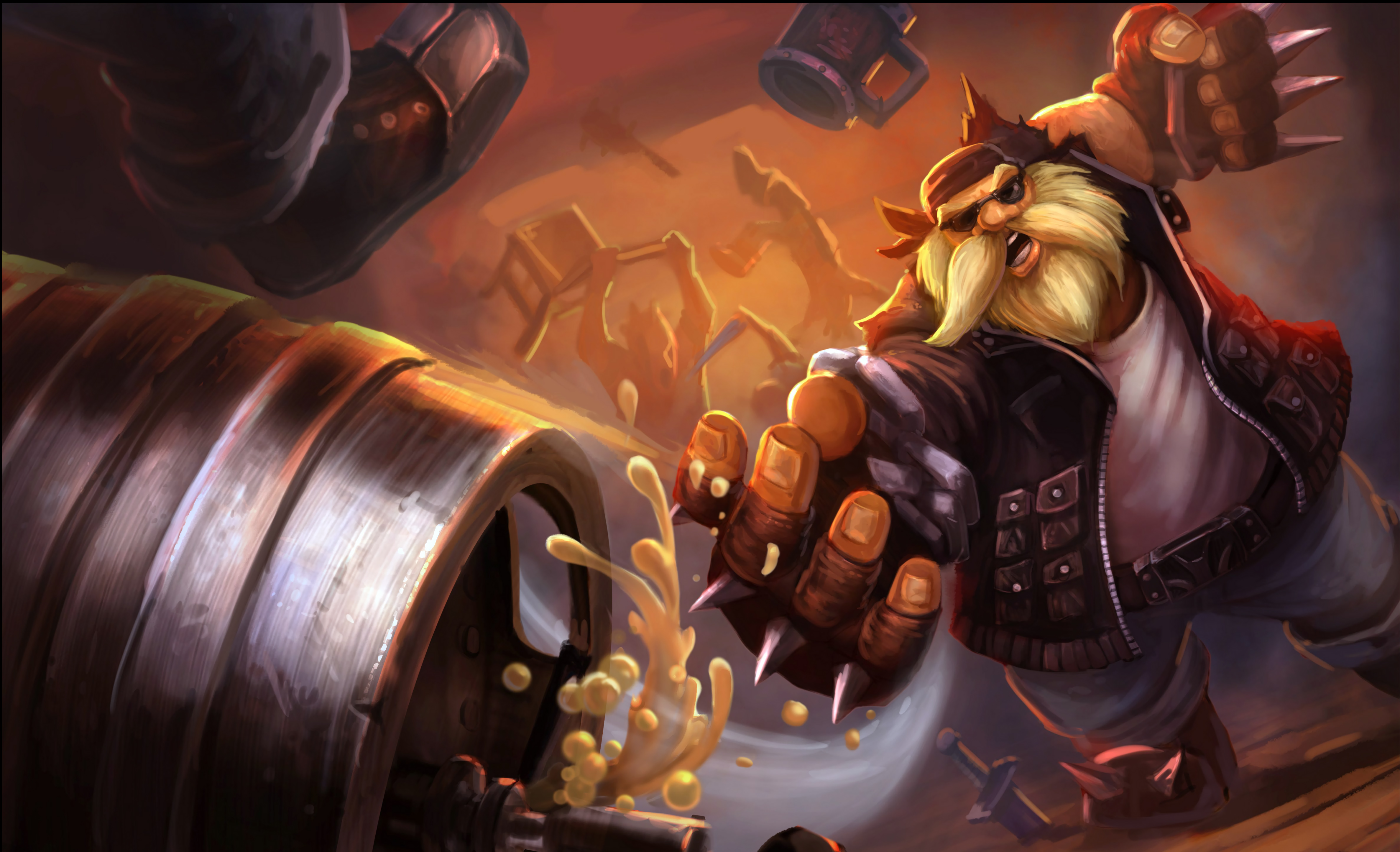 Vandal Gragas LoL Wallpapers 4748x2889