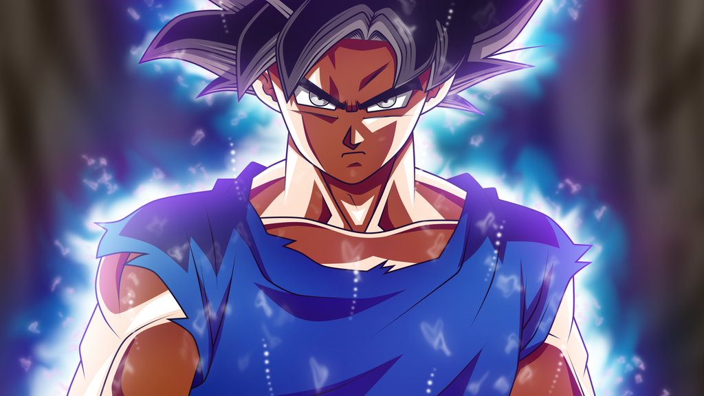 Son Goku Ultra Instinct Form by rmehedi 1024x576