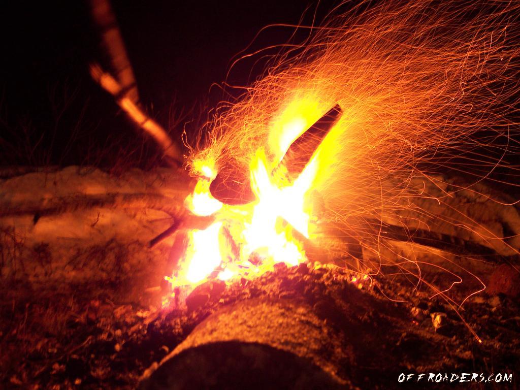 Campfire Screensaver 1024x768