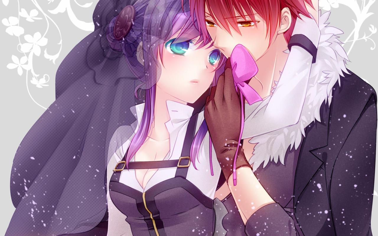 47 Anime Couple Wallpaper Hd Website On Wallpapersafari