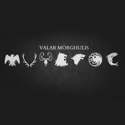 7 Valar Morghulis music playlists 8tracks radio 400x400