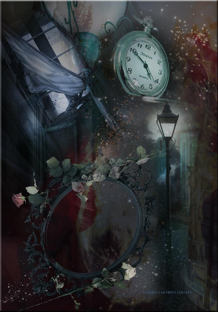 Magic Mirror PreMade Background by VaLeNtInE DeViAnT 700x1000