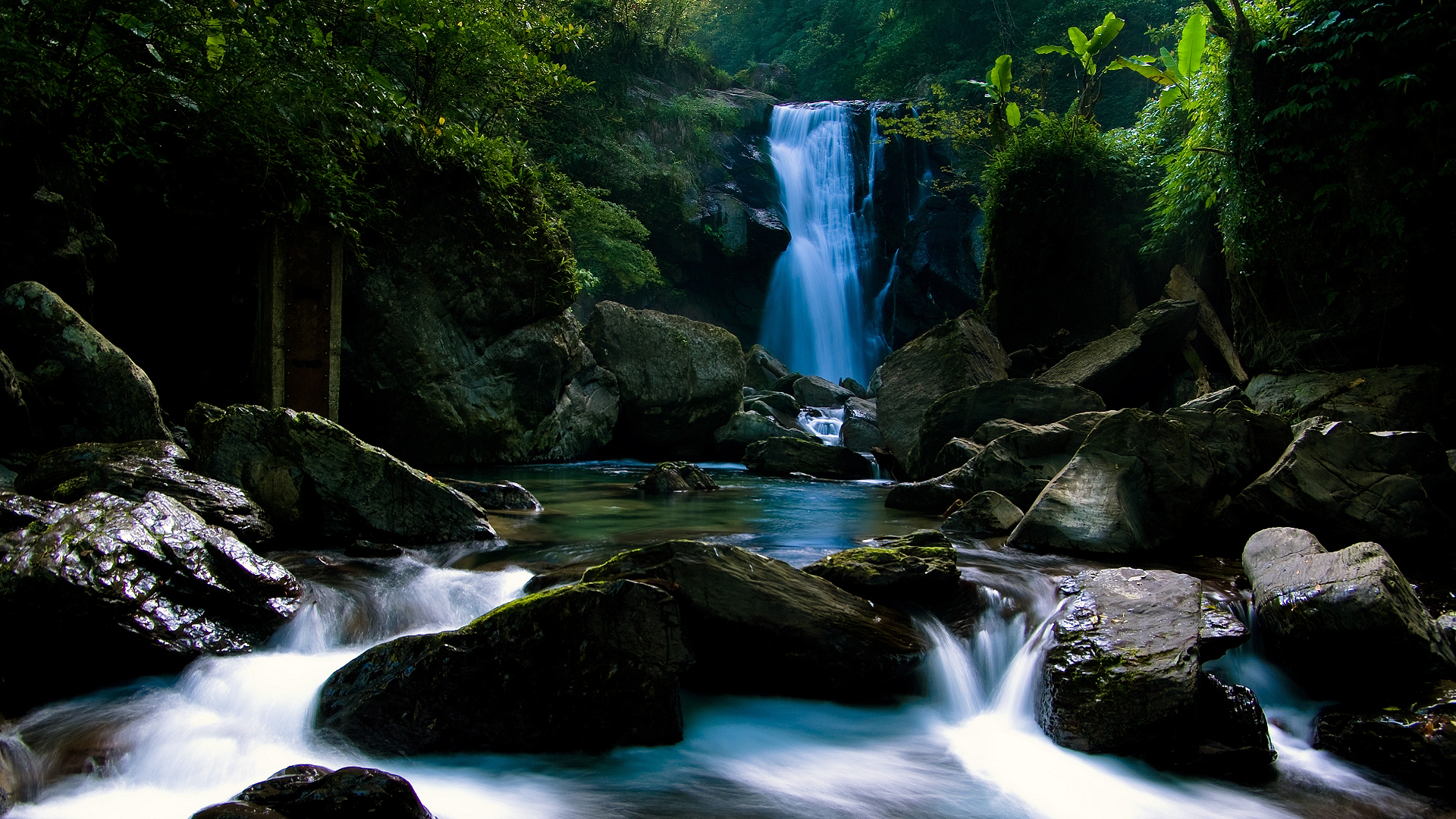 water falling nature fresh images cool nature hd wallpapers background