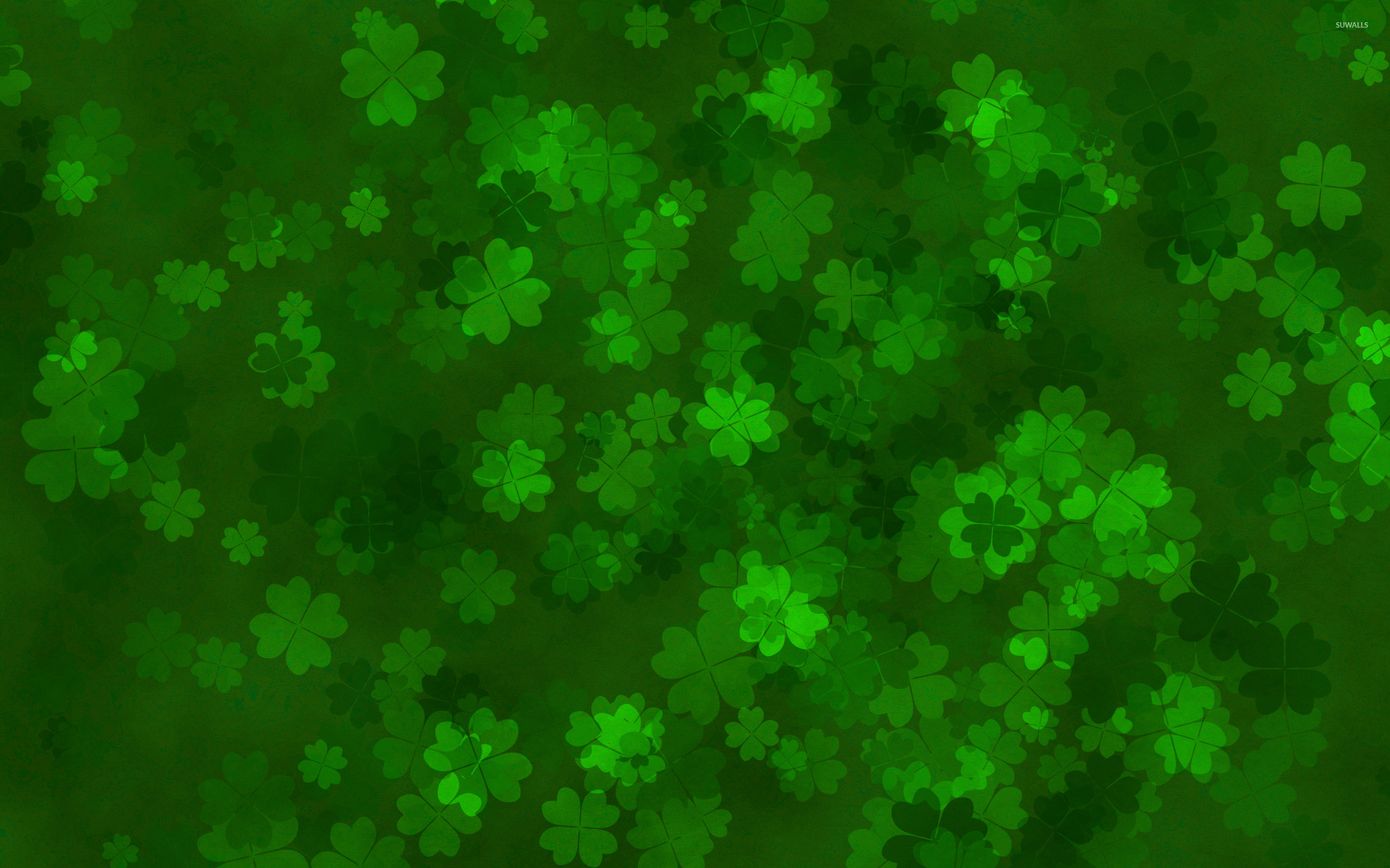 Clovers wallpaper   Holiday wallpapers   28270 2560x1600