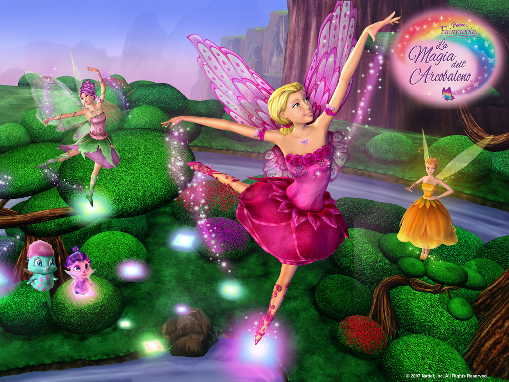 Barbie Movies images Magic of The Rainbow   Wallpapers HD 1024x768