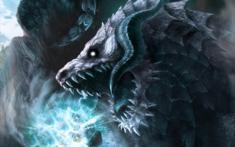 Ice Dragons Wallpaper 1440x900 Ice Dragons 1440x900