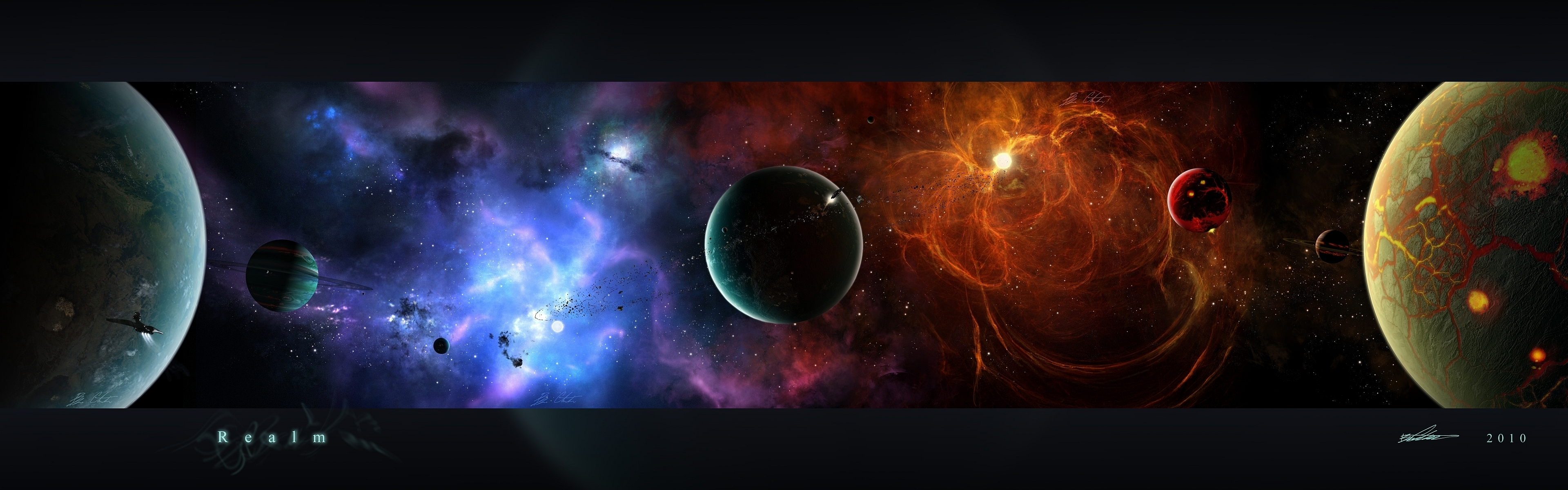 outer space 3840x1200 wallpaper Wallpaper Wallpapers Download 3840x1200
