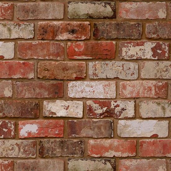 Brick Wall Wallpaper In Bedroom Classic brickwork in shades of 550x550