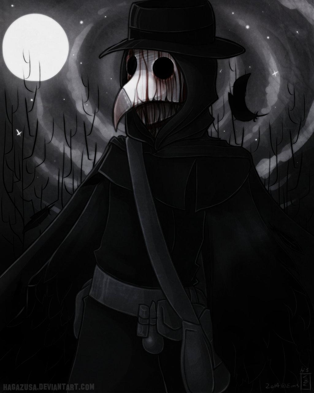 Plague Doctor by Hagyr 1024x1280