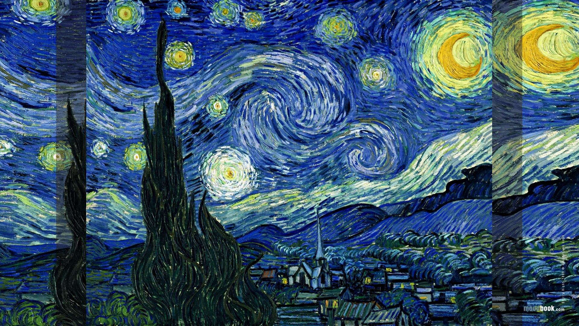 Starry Night Van Gogh Wallpaper Release date Specs Review 1920x1080