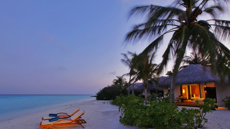 Exotic Beach Villa Wallpapers 10183 1440x810