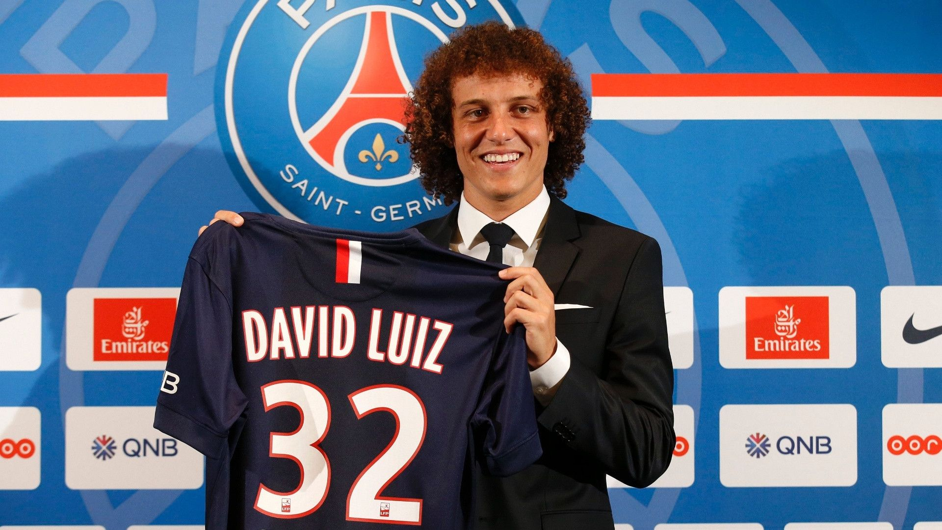 David Luiz Wallpaper 2015