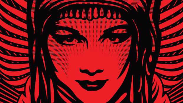 Home Wallpapers Shepard Fairey iPhone Wallpapers 620x350