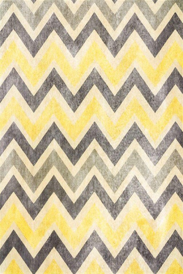 Yellow and gray chevron Labels Pinterest 640x960