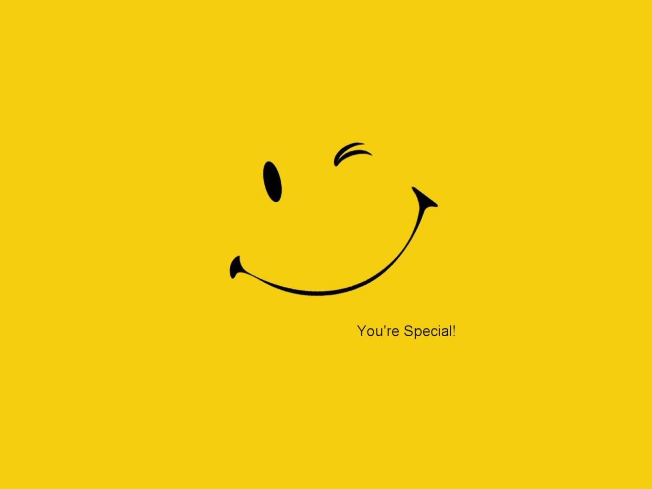 Pics Photos   Smiley Face Wallpaper Download 1280x960