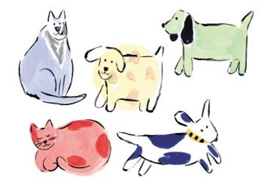 Dog and Cat Borders 525x362