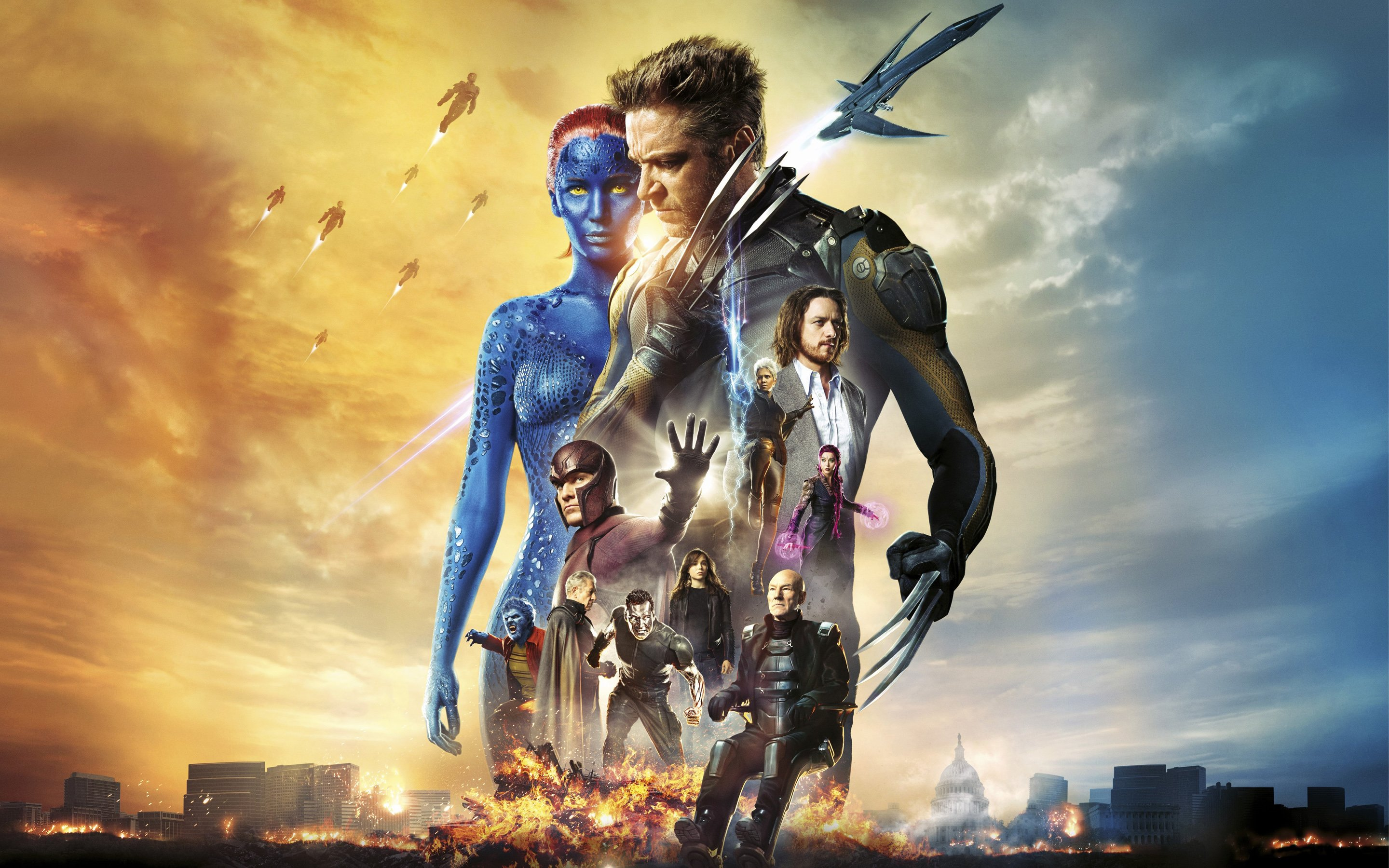 download Men Days of Future Past Movie Wallpapers HD 2880x1800