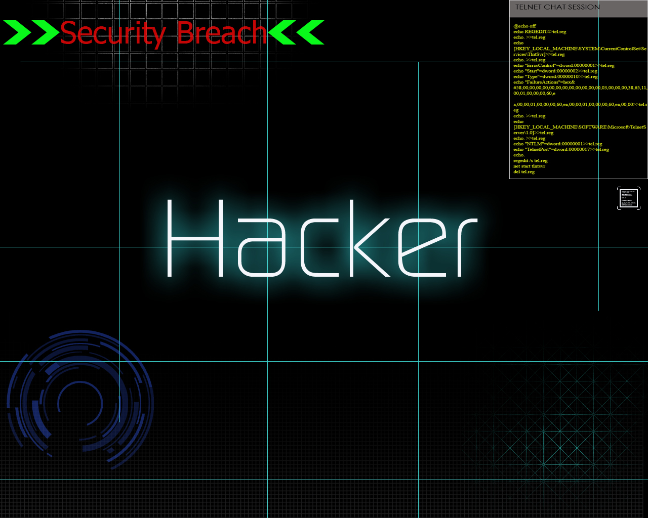 Become a Hacker in 15 Simple Steps Linux Candy 1280x1024