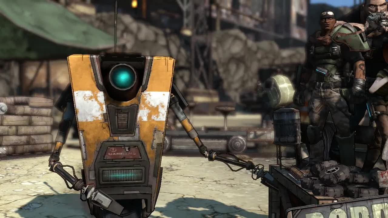 Borderlands Claptrap Wallpaper 1280x720 Borderlands Claptrap 1280x720