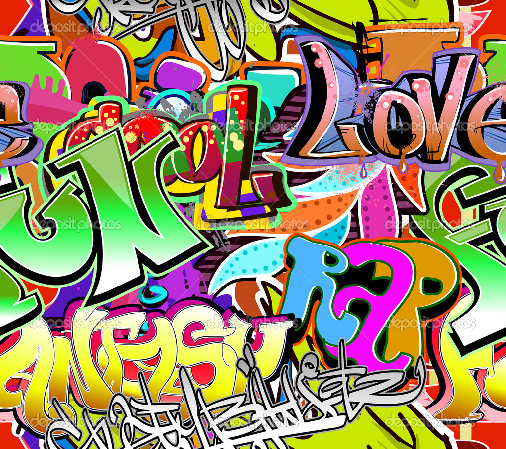 Hip Hop Graffiti Art Wallpaper - WallpaperSafari