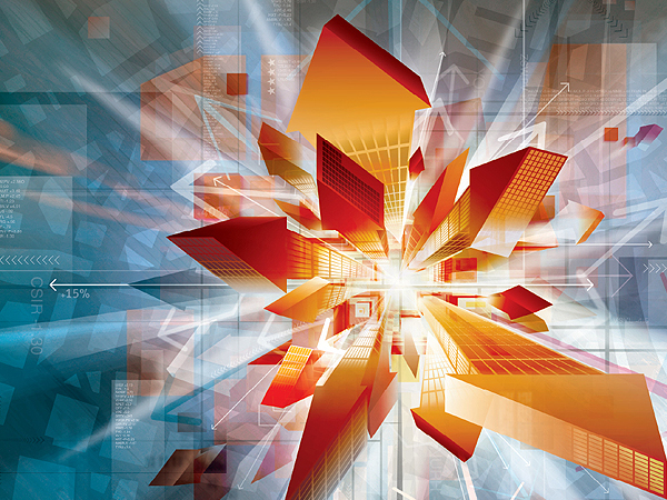 Abstract 3D Construction Wallpaper on this Abstract Graphic Wallpaper 600x450