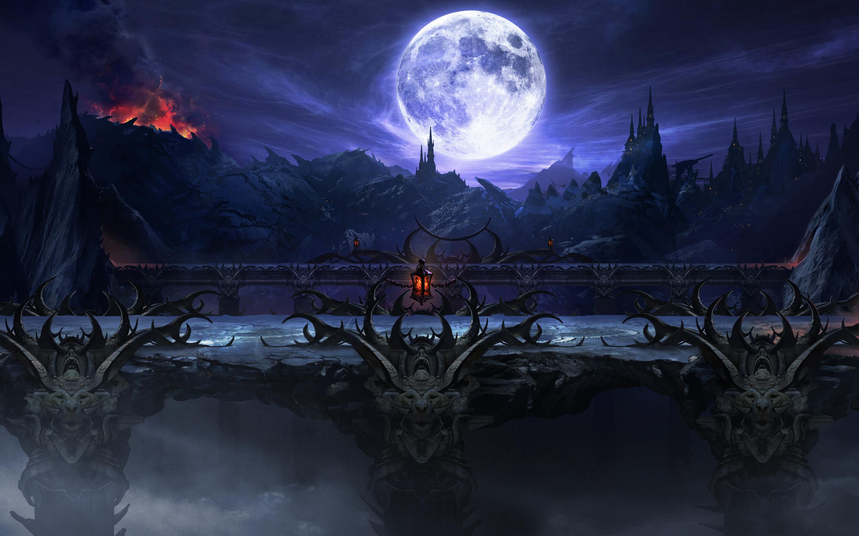 Mortal Kombat X Stage Wallpapers HD Wallpapers 2880x1800
