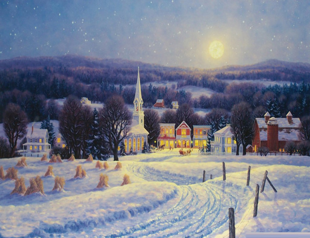 Country Christmas Desktop Backgrounds wallpaper Country Christmas 1024x786