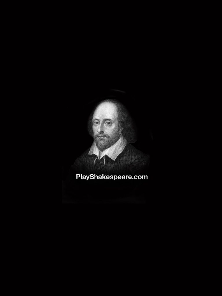 Shakespeare Wallpapers for iPadiPhone 768x1024
