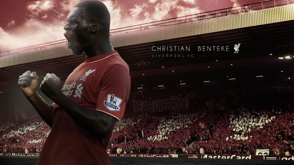 Christian Benteke Liverpool Wallpaper by RakaGFX 1024x576