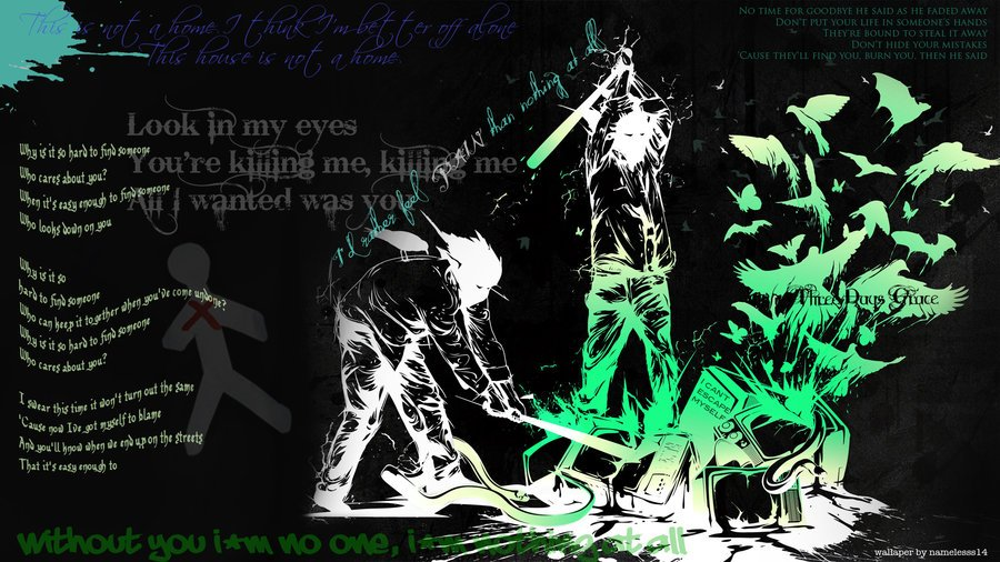 Three Days Grace Wallpaper by nameless14 900x506
