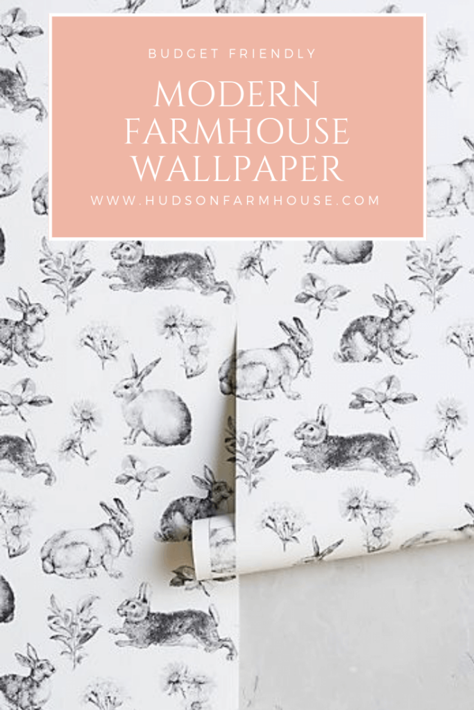 Modern Farmhouse Wallpaper thats Budget Friendly 683x1024