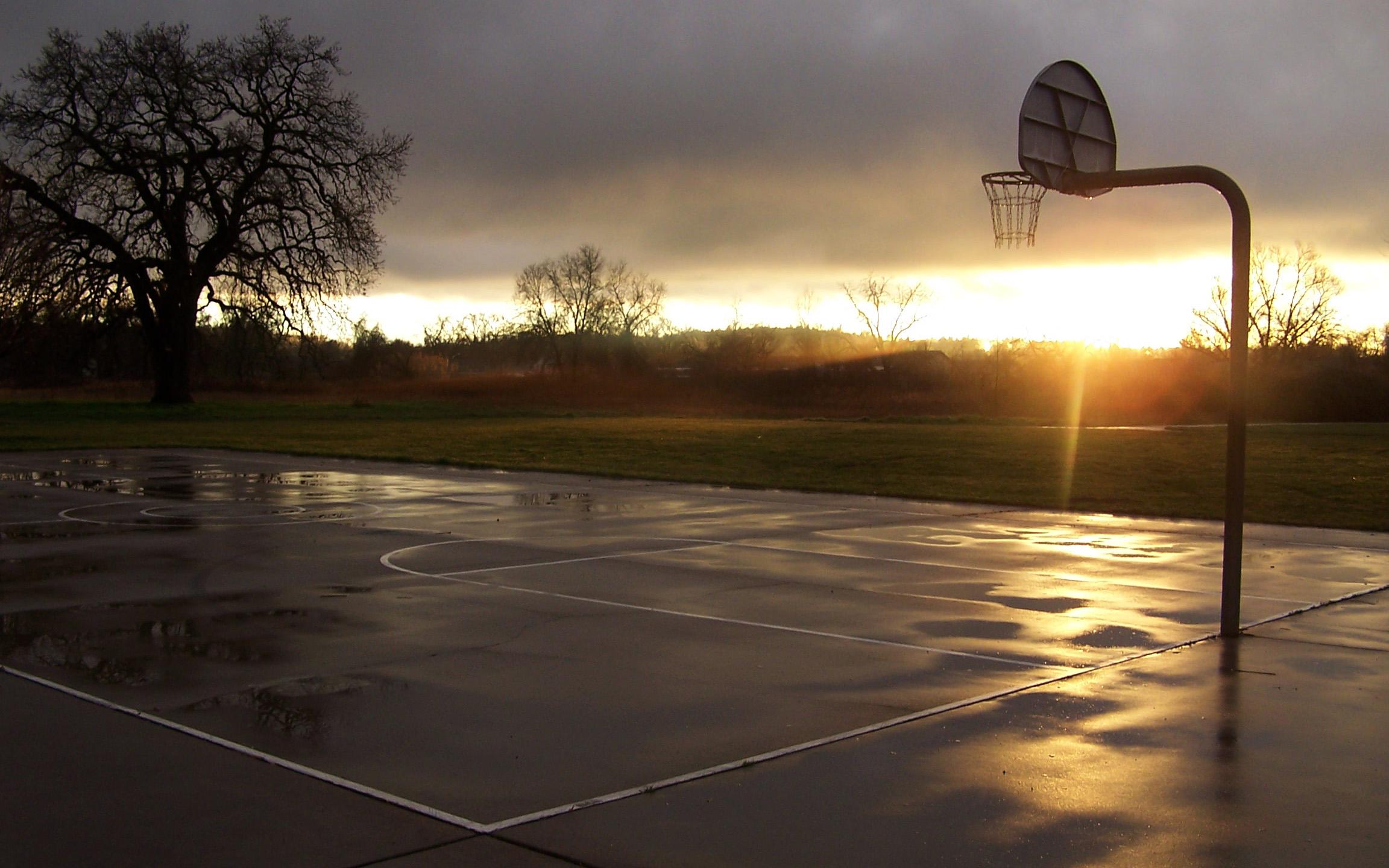 [46+] Basketball Court Wallpaper HD on WallpaperSafari