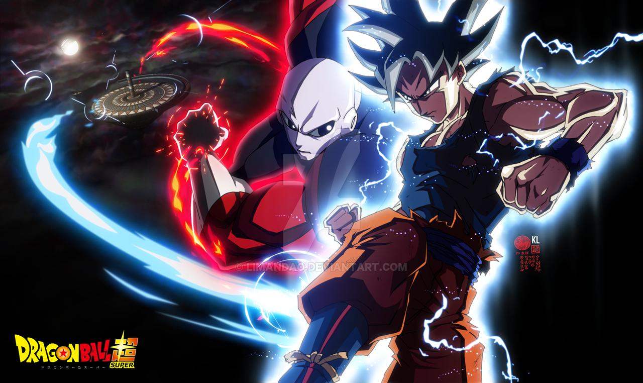 Goku Ultra Instinct VS Jiren by limandao 1280x762
