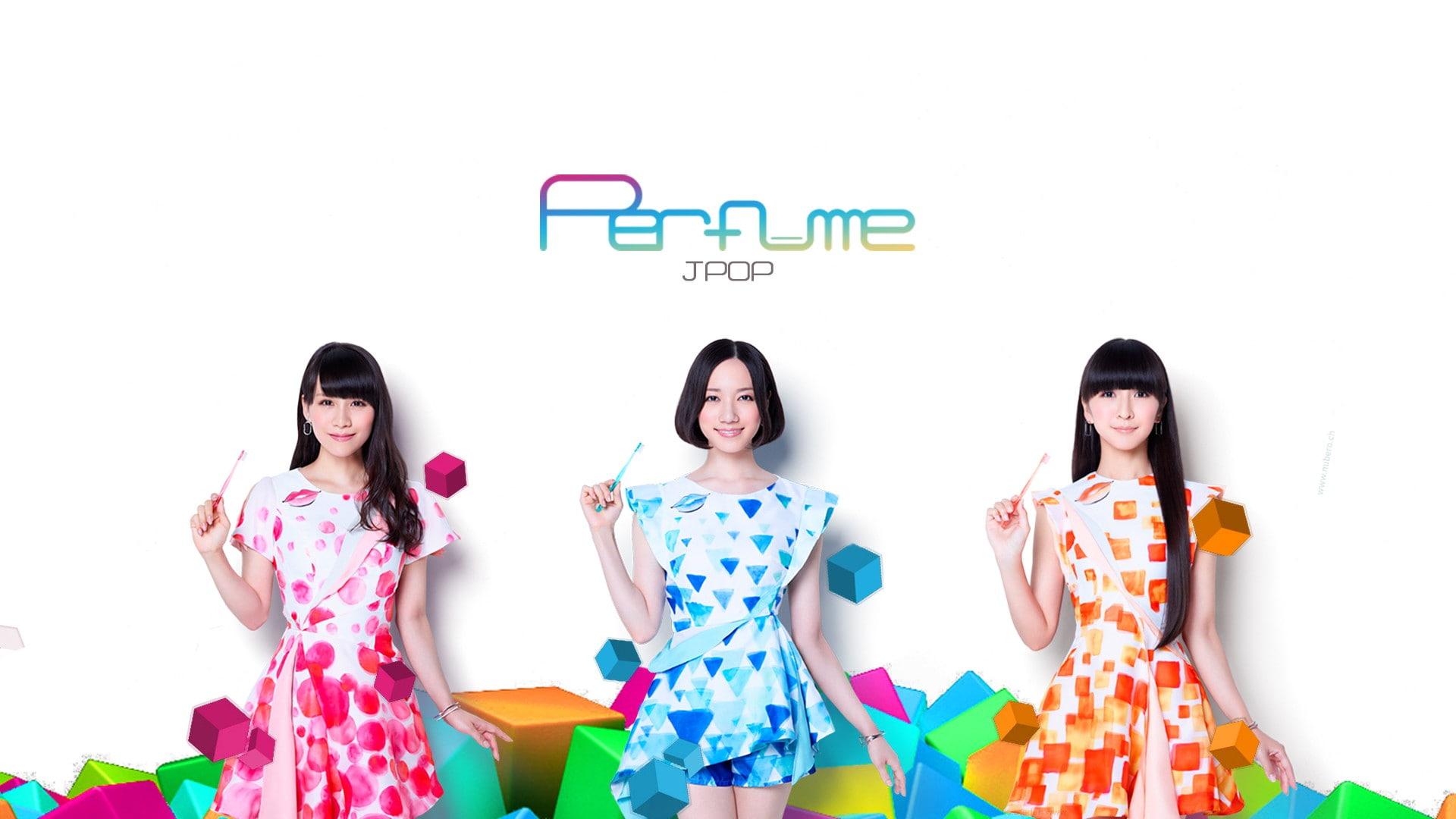 HD wallpaper Perfume Band Pafyumu Achan Nocchi kashiyuka 1920x1080