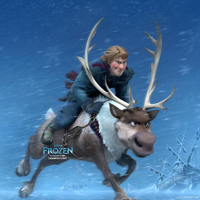 The Disney Movie Frozen Retina Wallpaper kristoff sven in frozen 640x640