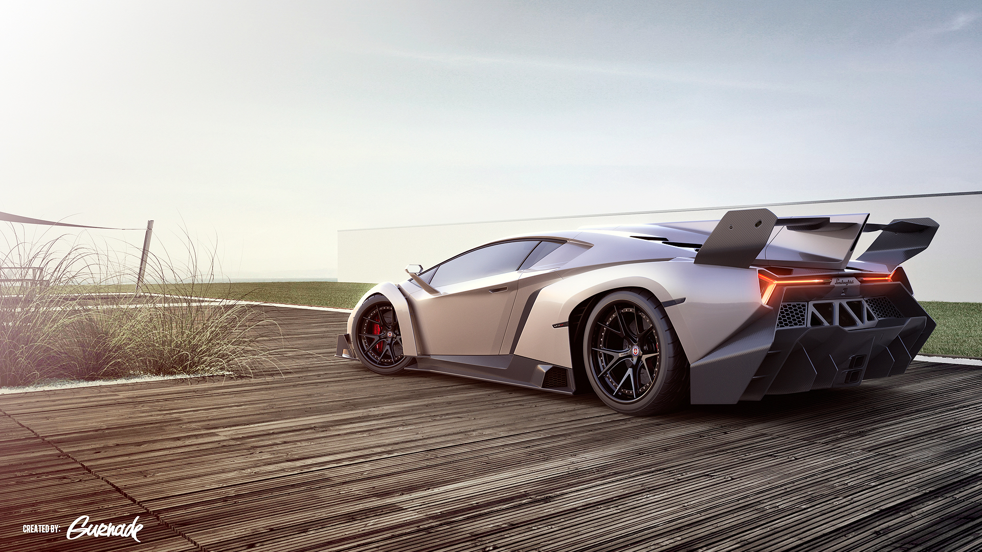 Lamborghini Veneno Sports Car Exclusive HD Wallpapers 5562 1920x1080