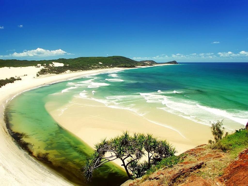 Beach Border 1024x768