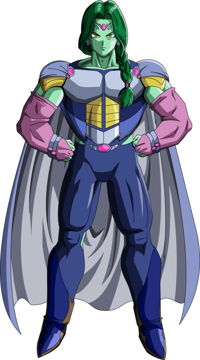 Zarbon Namek Saga MLL Redesign by MAD 54 DB Time Wallpaper 666x1199