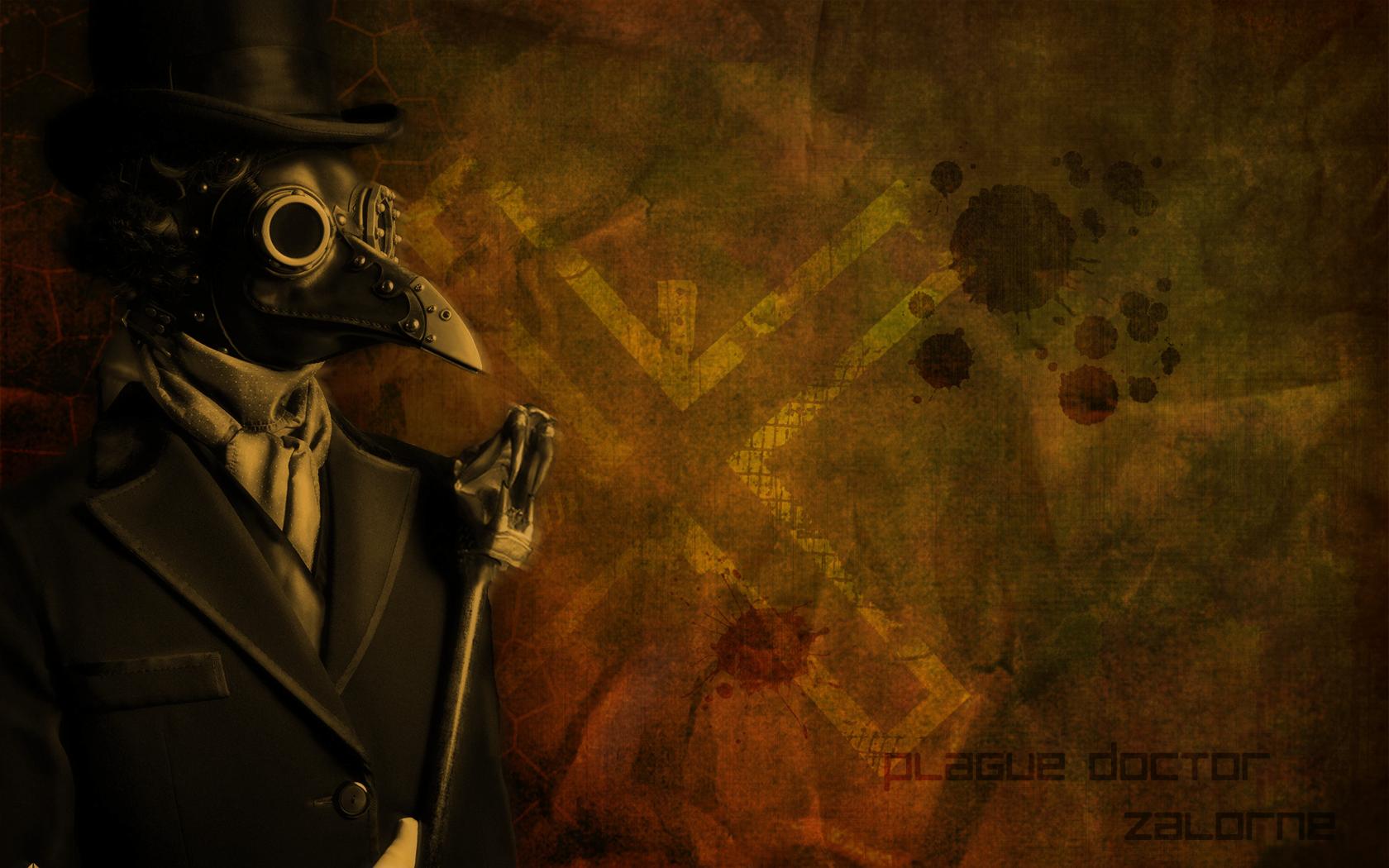 Plague Doctor by Zalorne 1680x1050