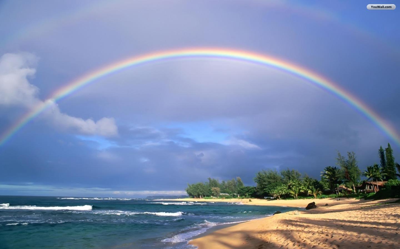Nature Rainbow Wallpaper Hd   1440x900 iWallHD   Wallpaper HD 1440x900
