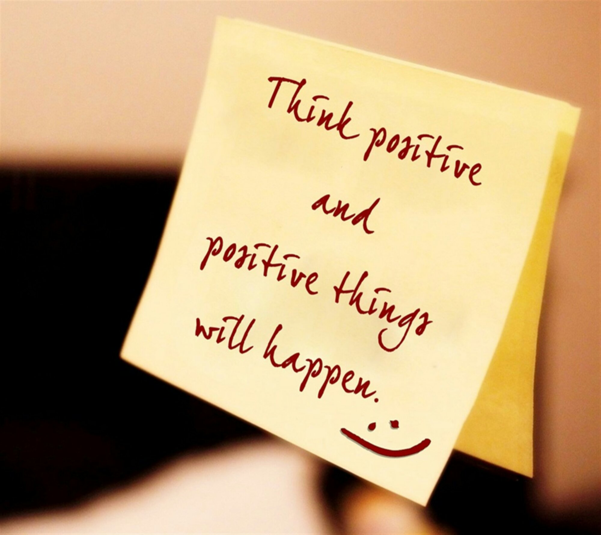 Positive Thinking Wallpaper