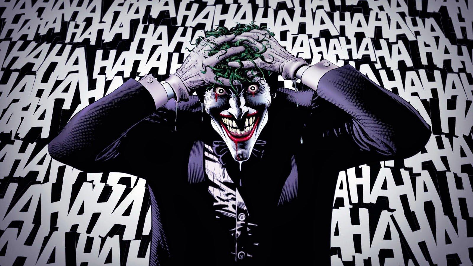Wallpaper from The Killing Joke The Joker Wallpaper The Killing Joke 1600x900