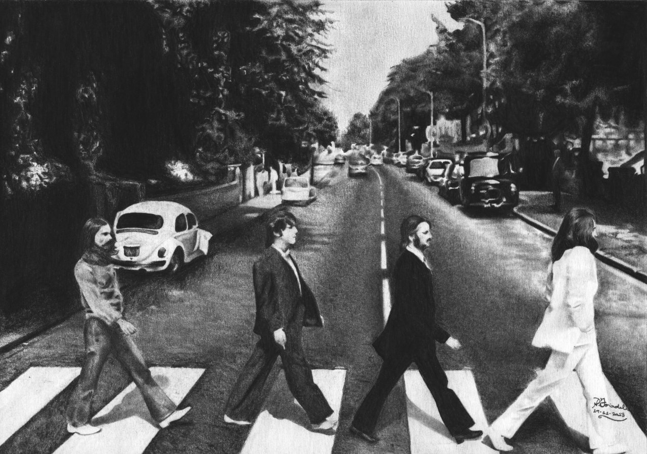 abbey road wallpaper wallpapersafari