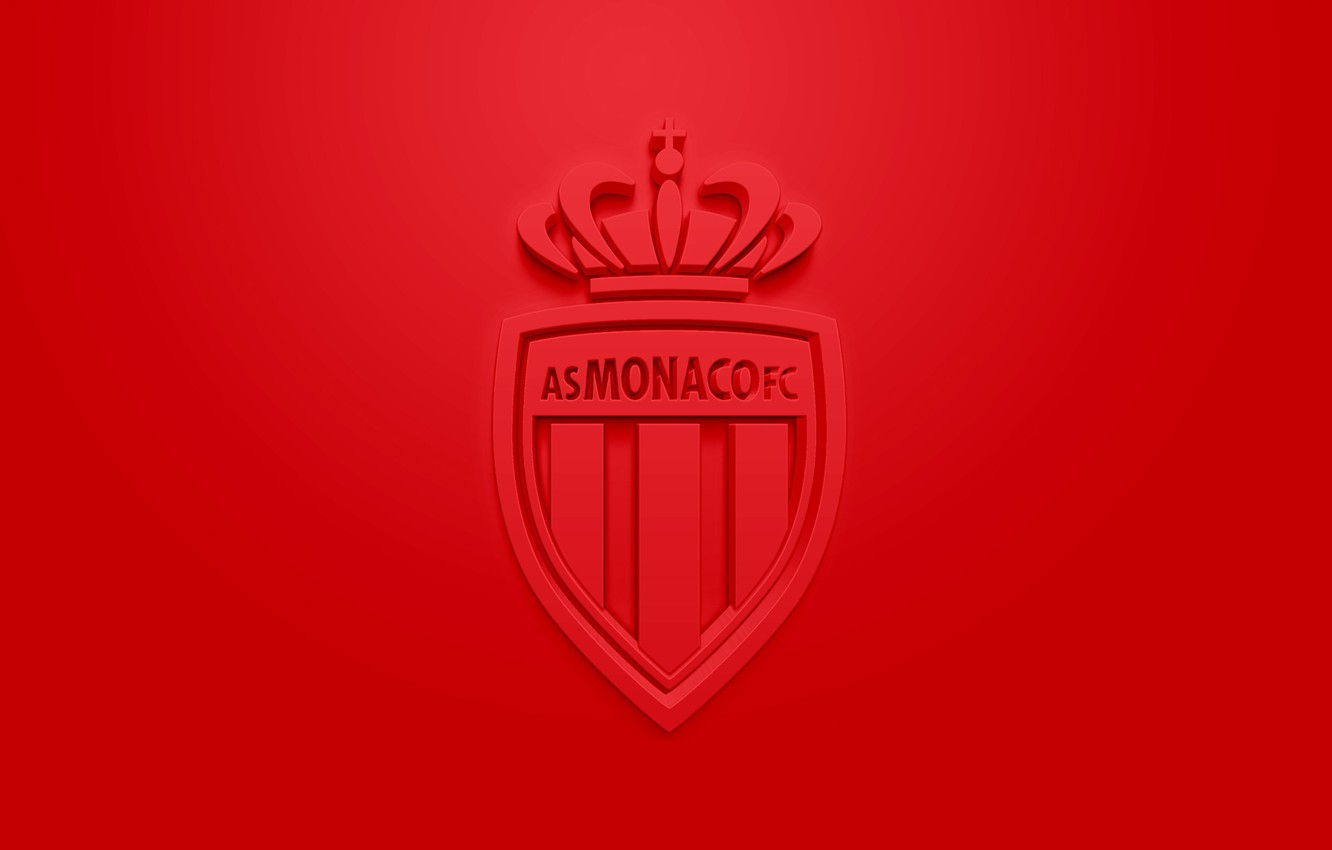 Wallpaper wallpaper sport logo football Ligue 1 AS Monaco 1332x850