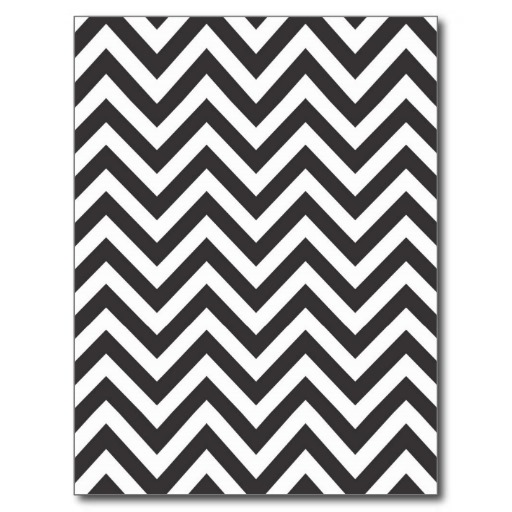 Zig Zag Striped Pattern Template Background Post Cards 512x512
