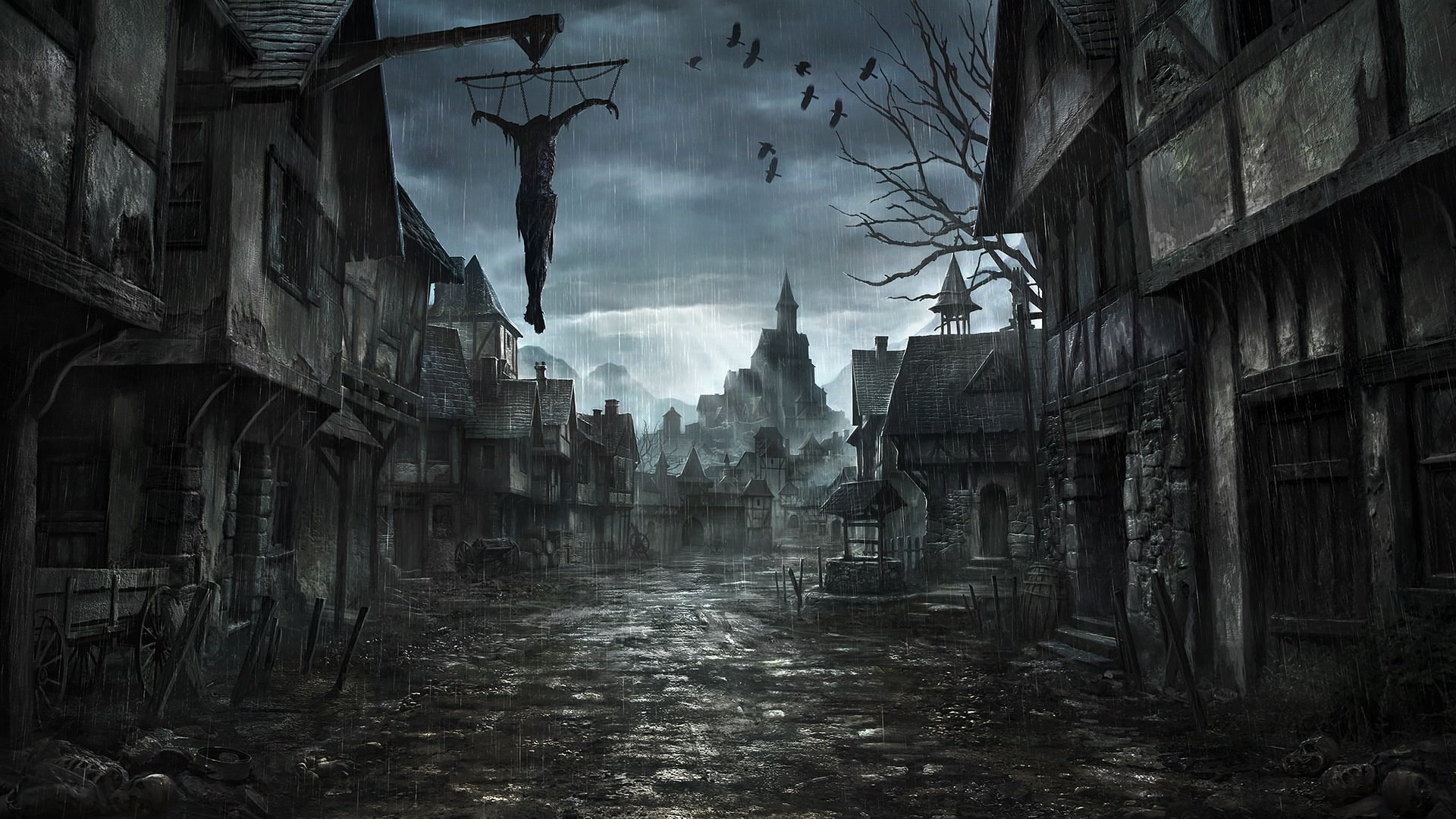 21 Scary Wallpapers Creepy Ghost Backgrounds Images 1920x1080