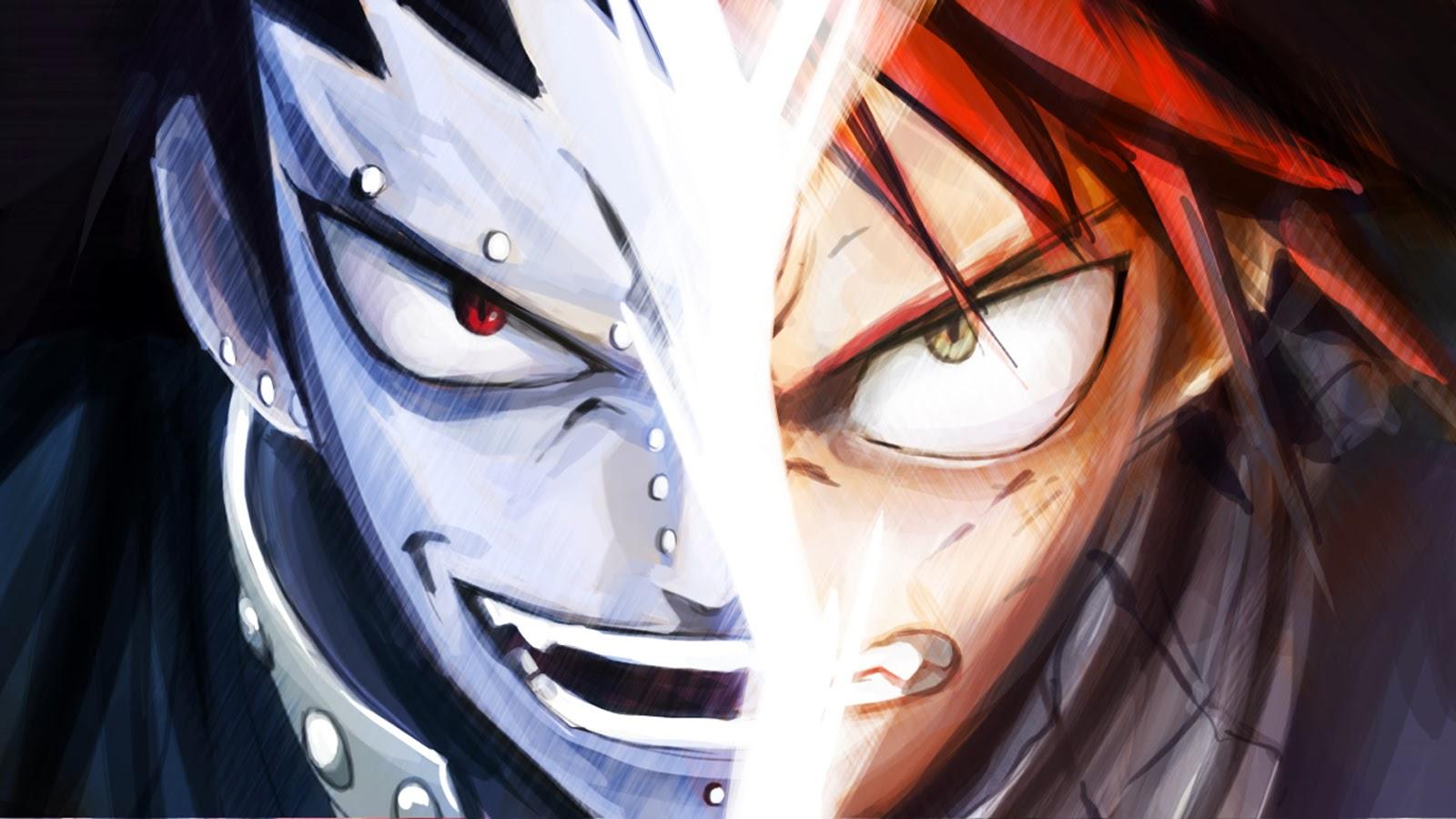 natsu dragneel vs gajeel redfox wallpaper hd anime 1600x900 a058 1600x900