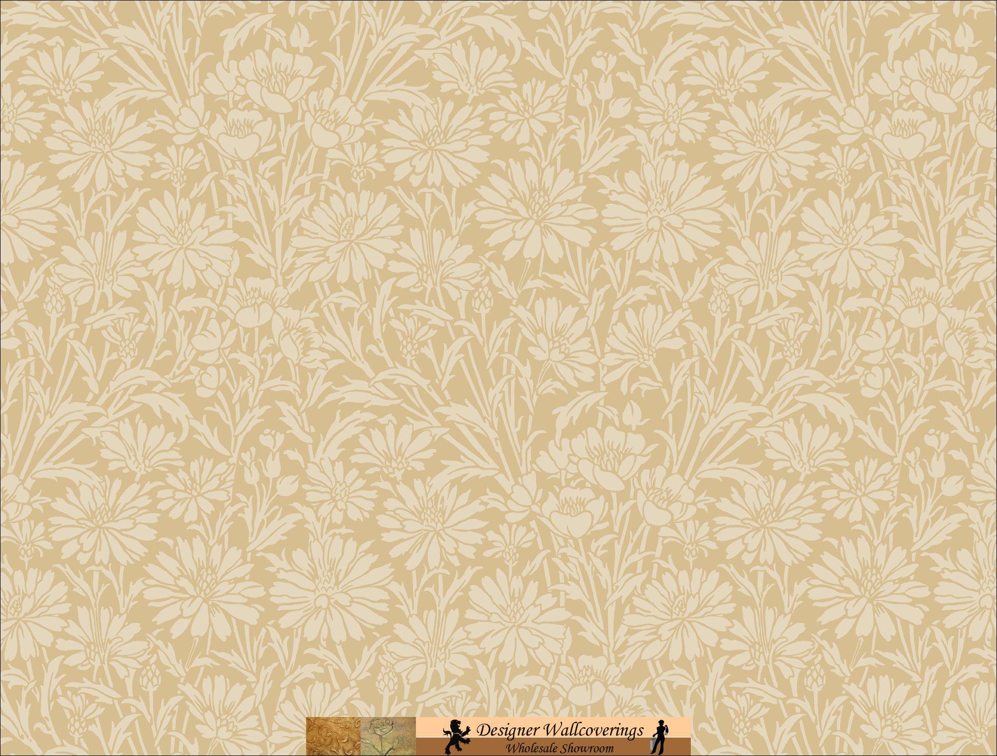 DIANA DAISY WALL PAPER [TAG 11017] Designer Wallcoverings 1944x1474