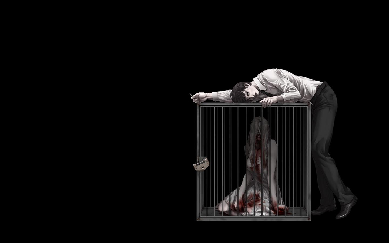 dark Horror Mood Blood Sas Sorrow Anime Wallpapers HD 1440x900