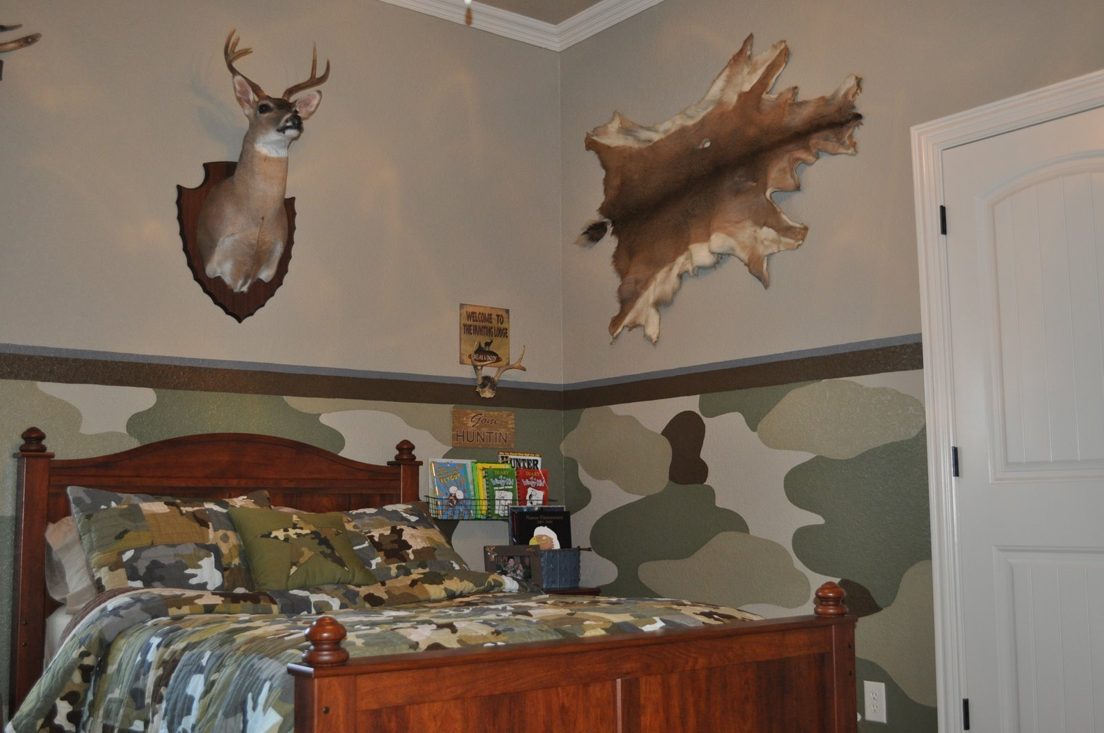Painting and Design by Celeste The camo room 1600x1063
